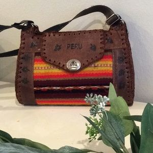 Handbags - Authentic Peruvian Bohemian Cross Body Purse